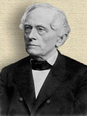 Photograph of Karl Schellbach, upper body facing Left