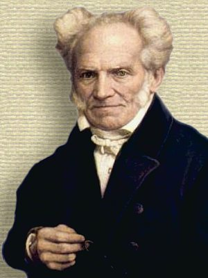 Portrait of Arthur Schopenhauer - upper body