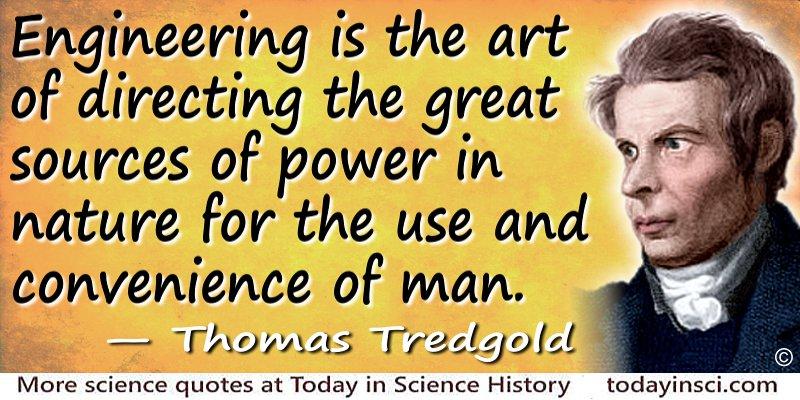 Thomas Tredgold quote