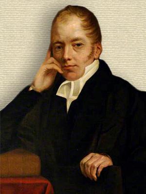 Portrait of Richard Whately - upper body