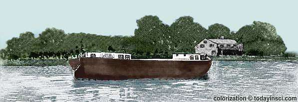 The First American Canal-boat, The Chief Engineer