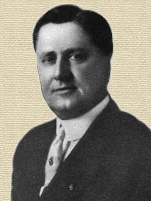 William Wrigley, Jr. - photo, head and shoulders